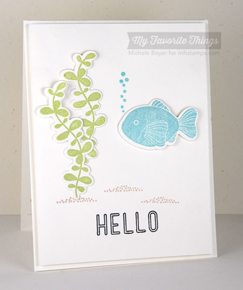 Mft may previews sea life paper cuts first i die cut the fish and fronds im calling them fronds reheart Image collections