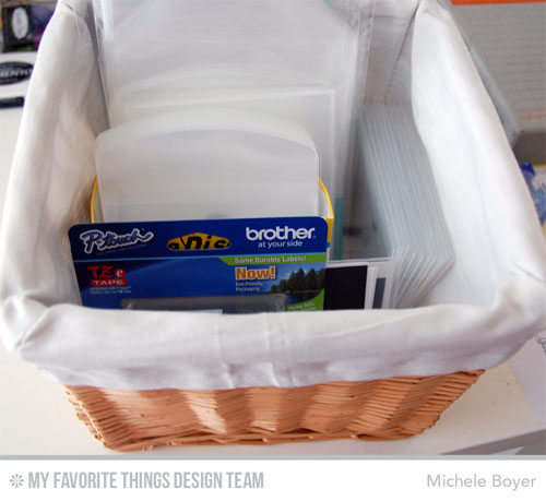 Michele Boyer/Organization Supplies Storage