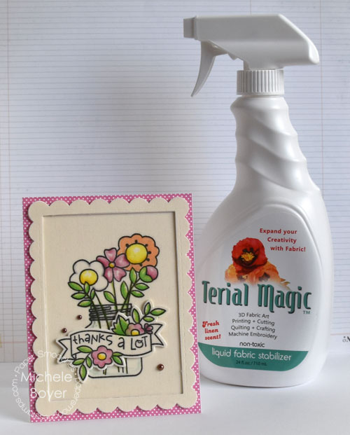 Terial Magic used in Paper Crafting