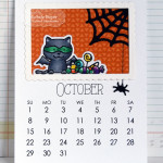 Michele Boyer - Taylored Expressions 3x4 calendar October