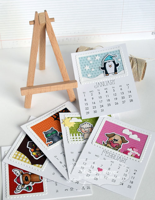 Michele Boyer - Taylored Expressions 3x4 calendar display easel