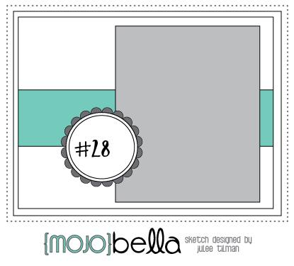 April 14 {Mojo}Bella sketch challenge