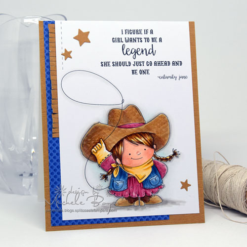 Stamping Bella Cowgirl Squidgy