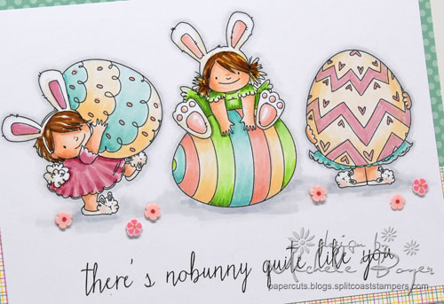 Stamping Bella Squidgy Easter Trio (close-up)
