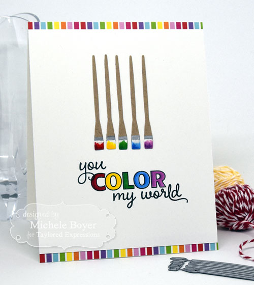 Taylored Expressions Little Bits Paint Brushes