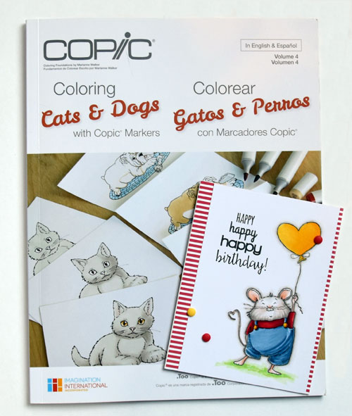 Coloring Cats & Dogs with Copic Markers