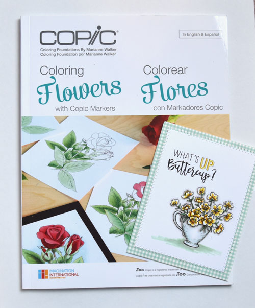 Coloring Foundations – Coloring Flowers with Copic Markers