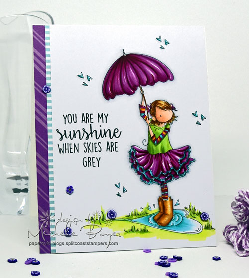 Stamping Bella Tiny Townie Rachel Loves the Rain
