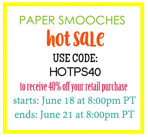 Paper Smooches Hot Sale