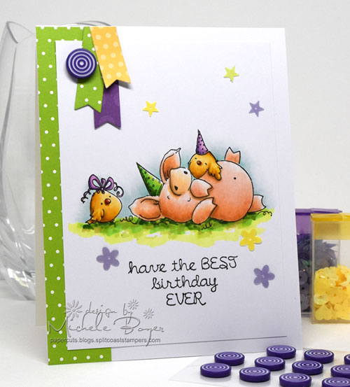 "Stamping Bella ""Petunia Has a Party"""
