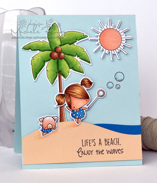 Stamping Bella Little Ice Cream & Lemonade/Palm Tree