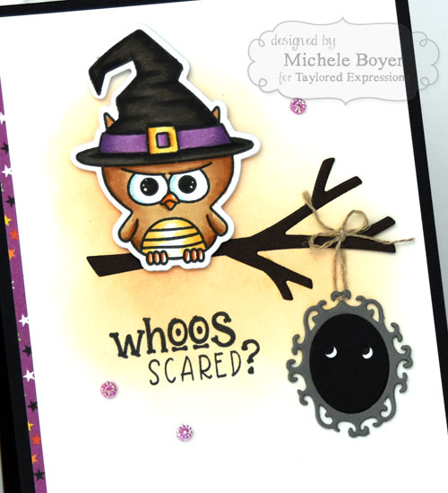 Taylored Expression Peek-a-Boo Halloween/Little Bits Ornate Frame