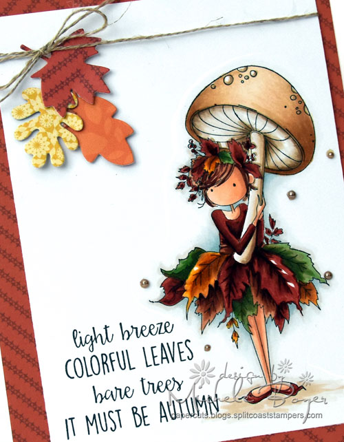 "Stamping Bella Tiny Townie ""Autumn Loves Autumn"" (close-up)"