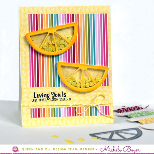 Fruit Basket Shaker Kit - Lemons