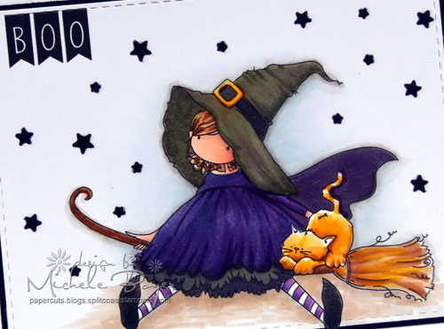 Stamping Bella Tiny Townie Hattie Loves Halloween