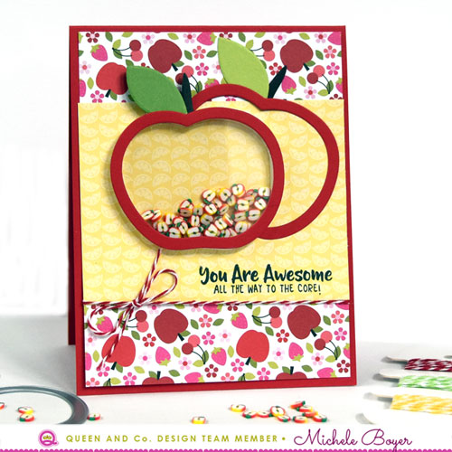Fruit Basket Shaker Kit - Apples
