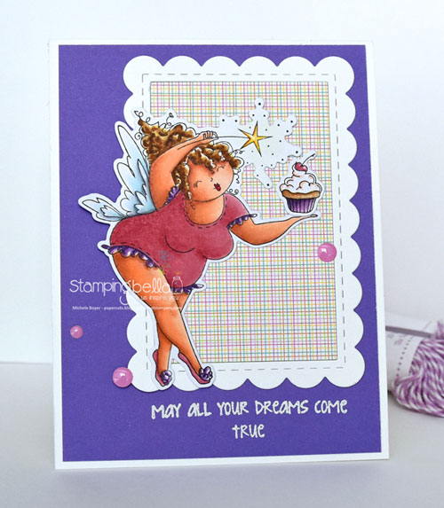 Stamping Bella Edna the Everything Fairy