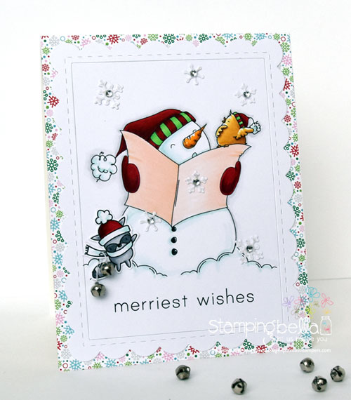 Stamping Bella Fa La La, Holiday Sentiments