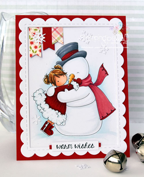 Stamping Bella Tiny Townie Frida Loves Frosty