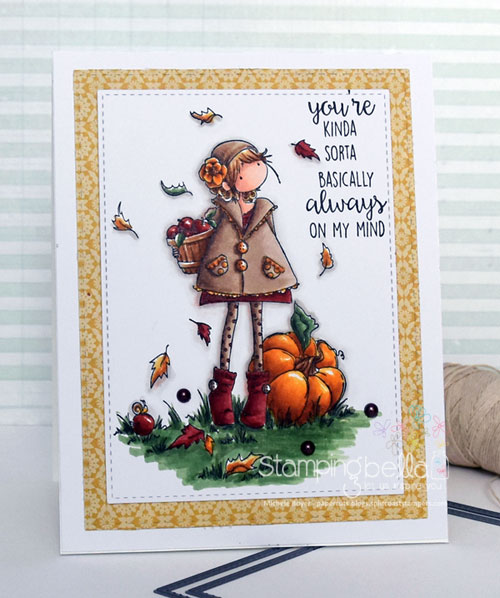 Stamping Bella Tiny Townie Faye Loves Fall