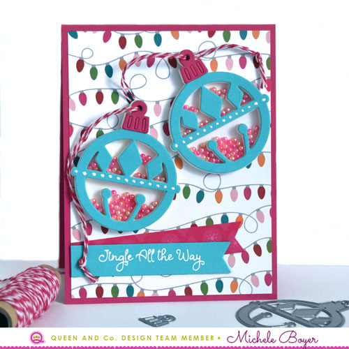 Queen & Company Merry & Bright Ornament Shaker Kit