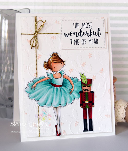Stamping Bella TIny Townie Natalie & the Nutcracker