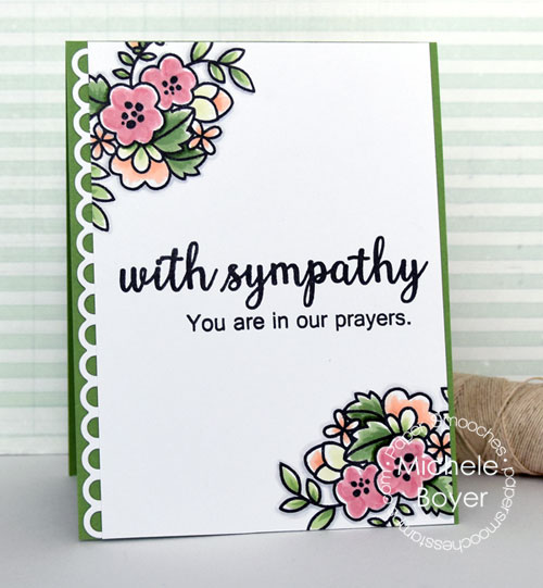 Paper Smooches Sympathy Sampler