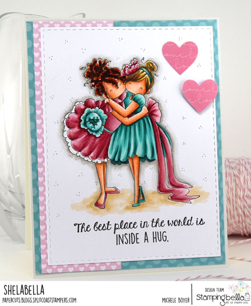 Stamping Bella Tiny Townie Huggy Friends