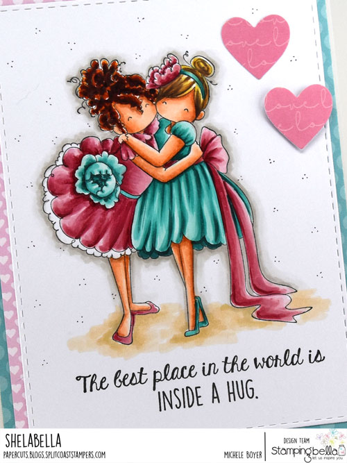 Stamping Bella Tiny Townie Huggy Friends (close-up)