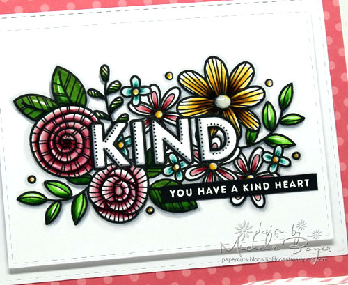 Simon Says Stamp Kind Flowers (close-up)