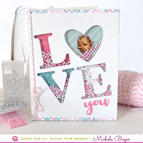 Queen & Company LOVE foam front/Simon Says Stamp Best Friends