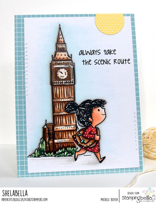 Stamping Bella A Tale of Two Rosies and Big Ben