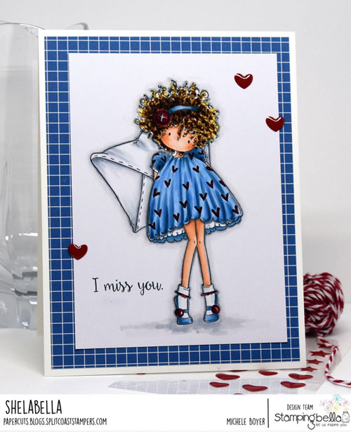 Stamping Bella Tiny Townie Lacey has a Letter