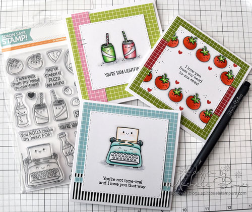 Simon Says Stamp Foodie Friends