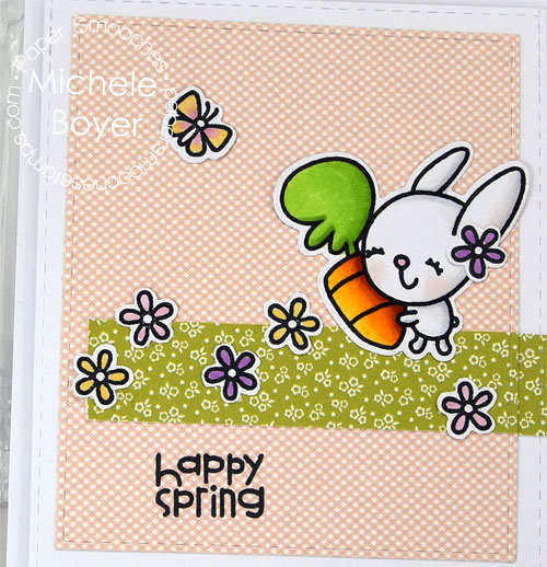 Paper Smooches Spring Fling (close-up)