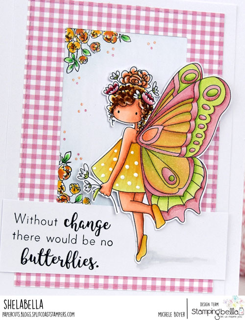 Stamping Bella Brianna the Butterfly