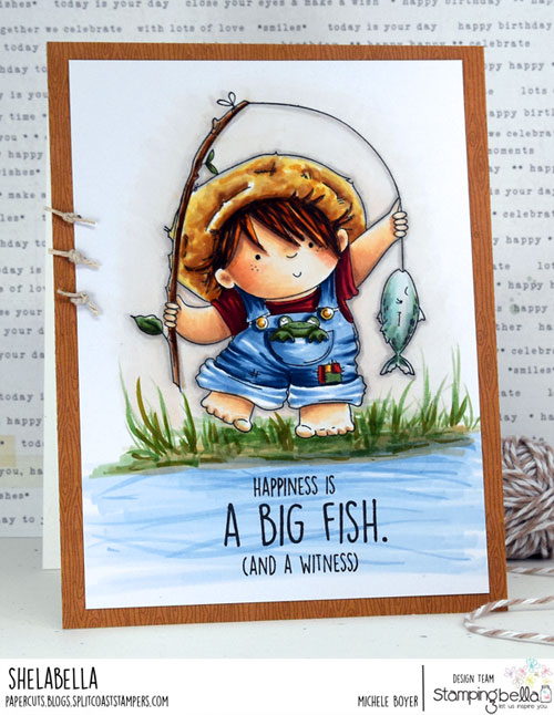 Stamping Bella Fishing Squidgy