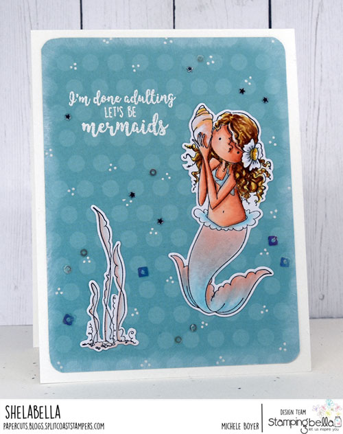 Stamping Bella Tiny Townie Mermaid
