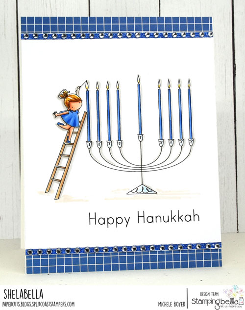 Stamping Bella Teeny Tiny Townie Chanukah