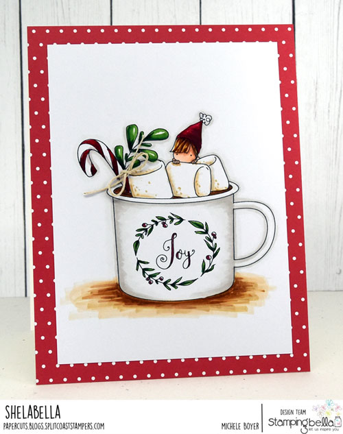 Stamping Bella Teeny Tiny Townie Hot Chocolate