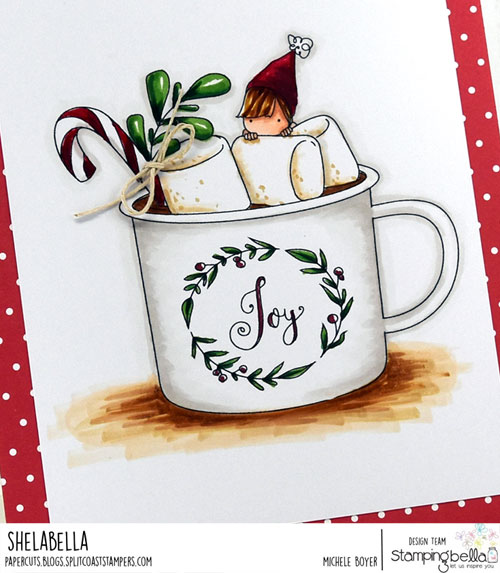 Stamping Bella Teeny Tiny Townie Hot Chocolate (close-up)