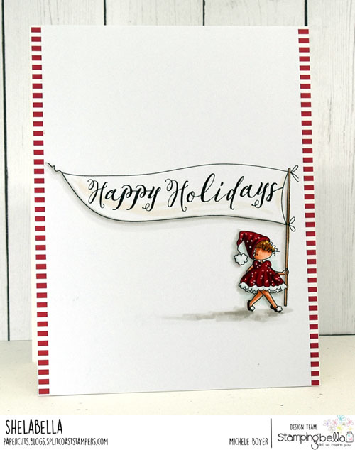 Stamping Bella Teeny Tiny Townie Happy Holidays