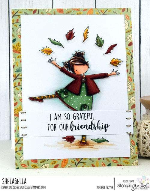 Stamping Bella Tiny Townie Layla Loves Leaves/Fall Sentiments