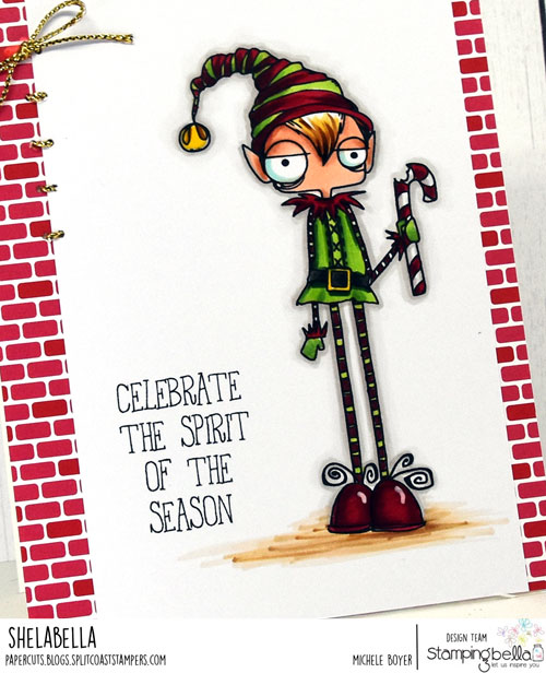 Stamping Bella Oddball Boy Elf (close-up)