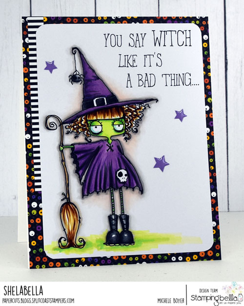 Stamping Bella Oddball Witch