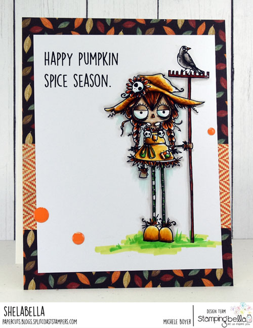 Stamping Bella Oddball Scarecrow