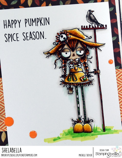 Stamping Bella Oddball Scarecrow (close-up)