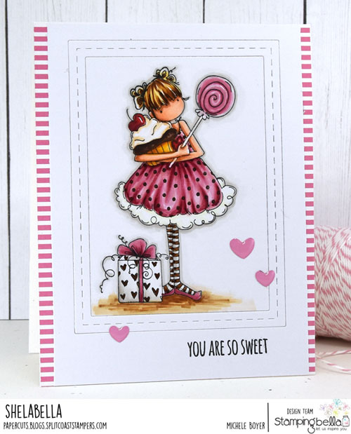 Stamping Bella Tiny Townie Sammy is Sweet