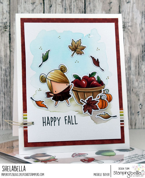 Stamping Bella Little Bits Fall Fruit and Nature