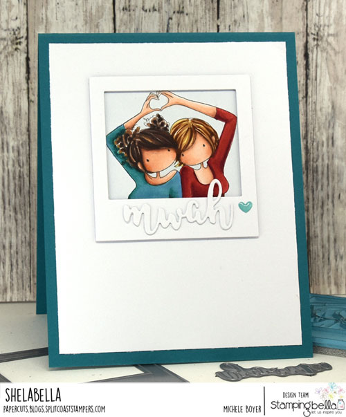 Stamping Bella Uptown Girls Snapshots - I Heart You